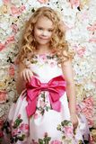 Blond little girl stock images