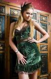 Blond magnifique image libre de droits