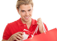 Blond man Royalty Free Stock Image