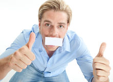 Blond man Stock Photos