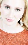 Blond meisje 13 Royalty-vrije Stock Fotografie