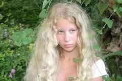 Blond mermaid Stock Photography