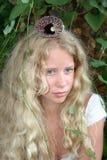 Blond mermaid stock image