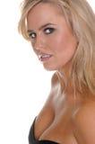 Blond mit blauen Augen Lizenzfreie Stockfotografie