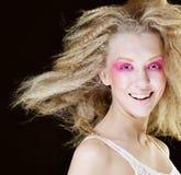 Blond mit Rosa bilden Sie Lizenzfreies Stockfoto