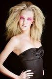 Blond mit Rosa bilden Sie Lizenzfreie Stockfotografie
