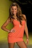 blond moda model Obrazy Royalty Free