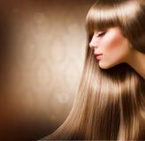 blond modeflicka Arkivfoto
