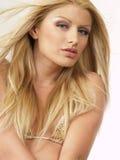 Blond model 120 Royalty Free Stock Image