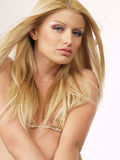 Blond model 121 Royalty Free Stock Image