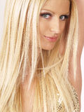 Blond model  Royalty Free Stock Photo