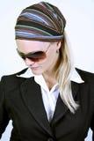 Blond model Stock Image