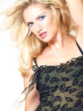 Blond Model Portrait Royalty Free Stock Images