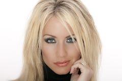 blond modell Royaltyfria Bilder