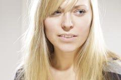 blond modell Royaltyfri Bild