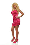 blond modell Royaltyfria Foton