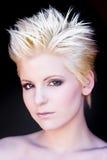 blond modern portrait woman Στοκ εικόνες με δικαίωμα ελεύθερης χρήσης
