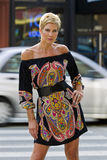 blond mogen modell Royaltyfria Foton
