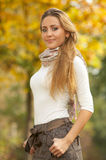 Blond Outdoors Royalty Free Stock Photos