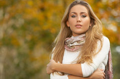 Blond Outdoors Royalty Free Stock Photo