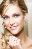blond panna młoda Obraz Royalty Free