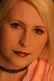 blond pink2 Arkivfoton