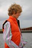 blond pojke Fotografering för Bildbyråer
