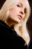 Blond portrait Royalty Free Stock Images