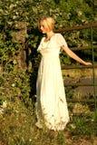 Blond portrait Stock Images