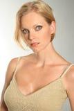 Blond portrait Stock Photos