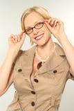 Blond portrait Stock Photo