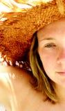 blond portret, Zdjęcie Stock