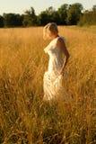 Blond portret royalty-vrije stock afbeeldingen