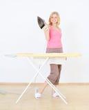 blond praca domowa Obrazy Stock