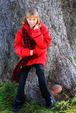 Blond Preteen Girl Royalty Free Stock Image