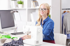 Blond professional woman Stock Images