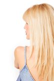 Blond profile Stock Photos