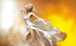 blond seksowna kobieta Zdjęcia Stock