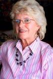 Blond Senior Lady Stock Image