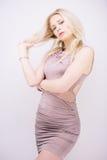 Blond sensuel Photographie stock libre de droits
