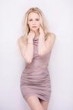 Blond sensuel Image libre de droits