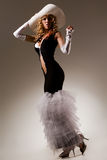 Blond sensuel Photos libres de droits