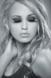 Blond Sexy Girl Stock Images