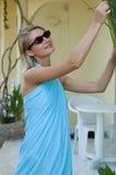 Blond sexy meisje Royalty-vrije Stock Afbeeldingen