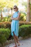 Blond sexy meisje Royalty-vrije Stock Afbeelding