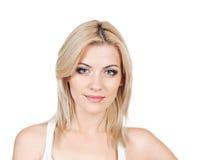 Blond skönhet Fotografering för Bildbyråer