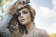 blond skönhet Royaltyfria Foton