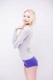 Blond sportif Image libre de droits