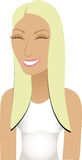 Blond Sporty Avatar Stock Images