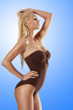 Blond summer girl Royalty Free Stock Photos